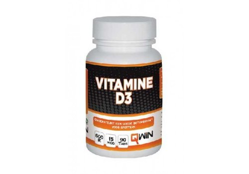 QWIN Vitamine D3 (90 tabs)