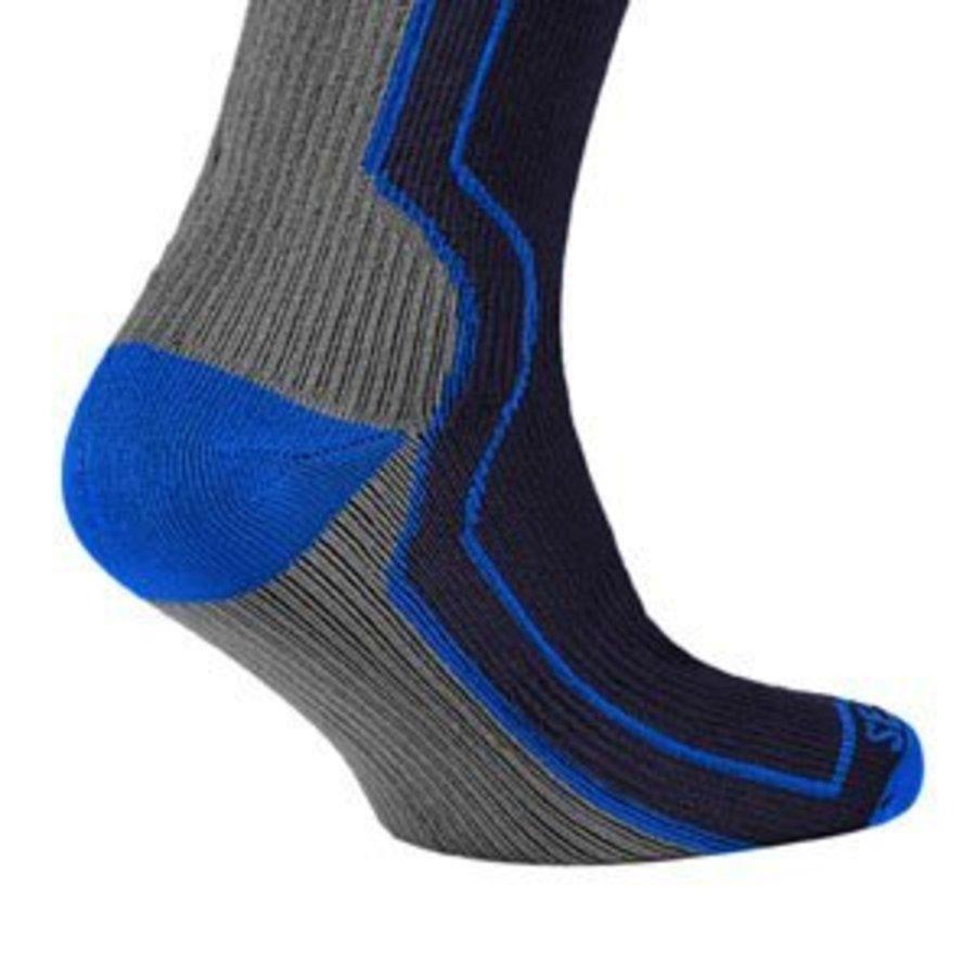 Sealskinz Mid Weight Mid Length Hydrostop sokken Zwart