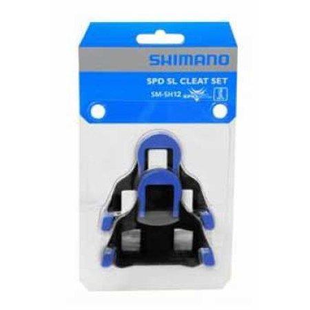 Shimano Shimano SM-SH12 SPD SL Schoenplaat (Blauw)