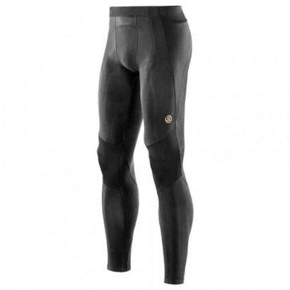 Skins Skins A400 Men Long Tight's Compressiebroek Zwart/Geel