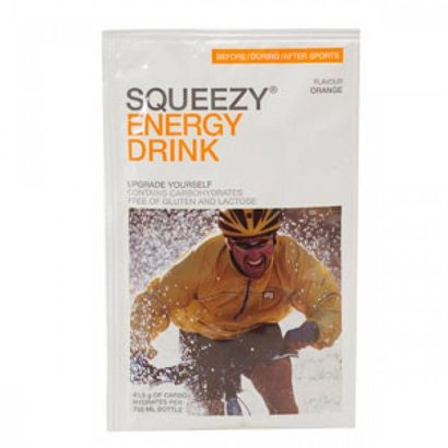 Squeezy Squeezy Energie Drink sachet (50gr)