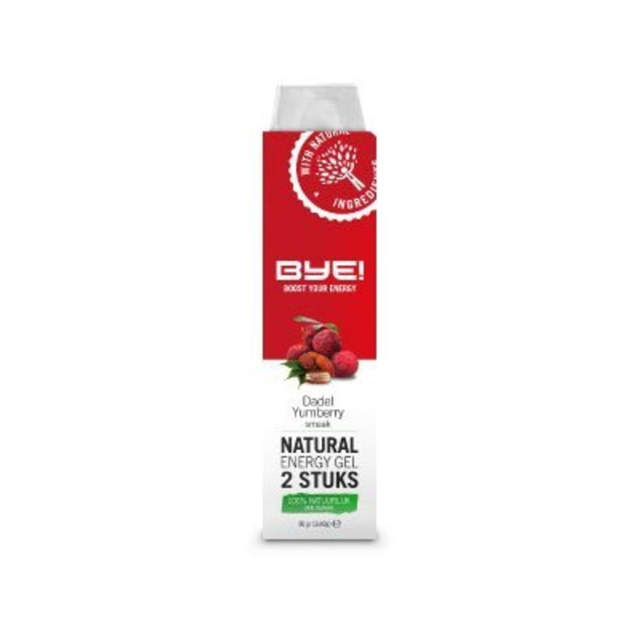 BYE! Natural Energiegel  (2x 40 gr)