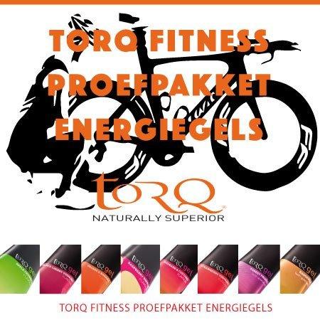 TORQ Torq Energiegels proefpakket (8 gels)