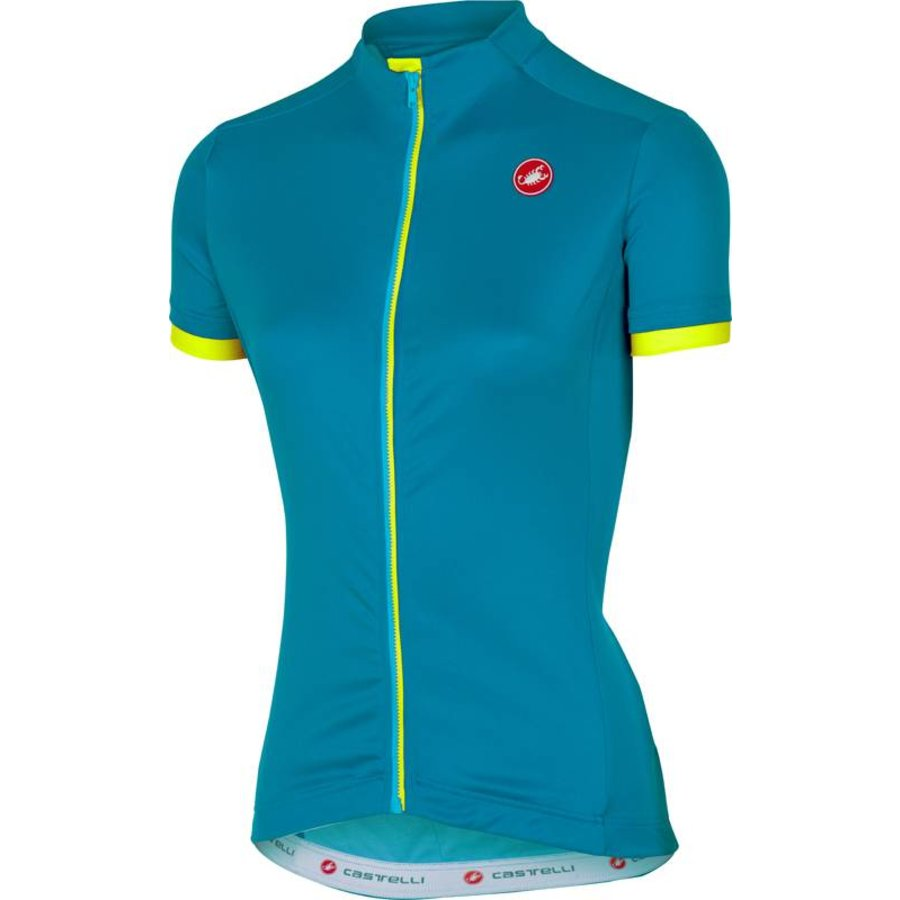 Castelli Anima Dames Fietsshirt met korte mouwen-1