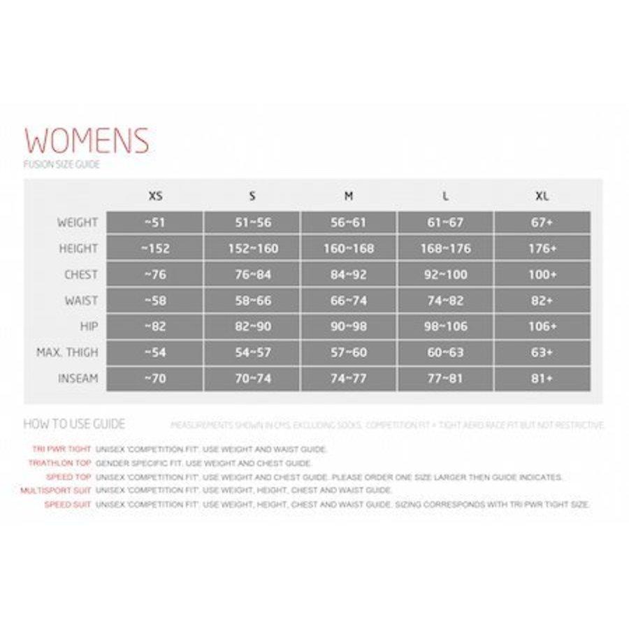 Fusion WOMENS C3 Fietsbroek Kort