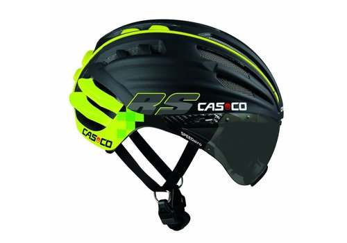 Casco SpeedAiro RS Zwart - Lime