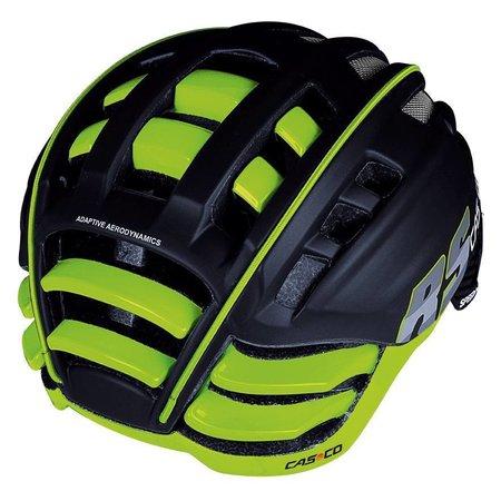 Casco Casco SpeedAiro RS Zwart - Lime
