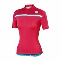 thumb-Sportful Allure Fietsshirt met korte mouwen-6