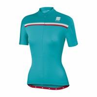 thumb-Sportful Allure Fietsshirt met korte mouwen-9