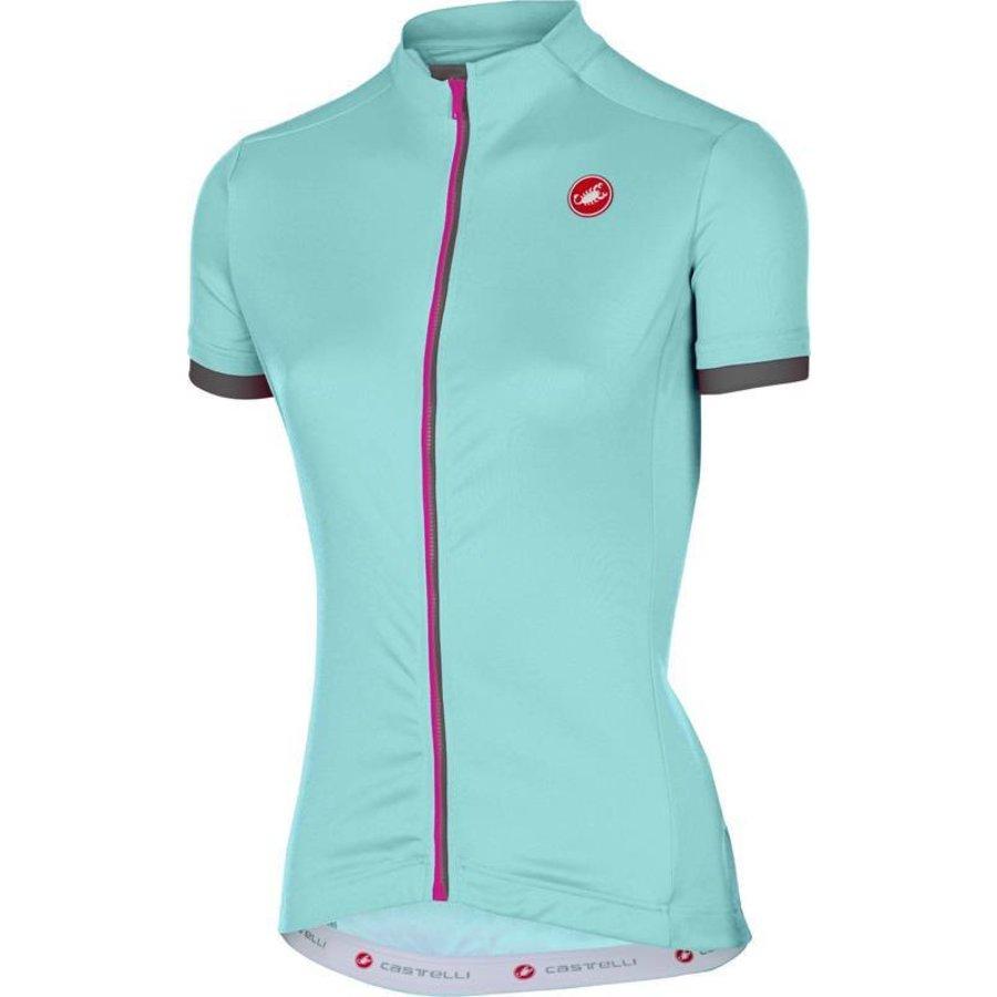 Castelli Anima Dames Fietsshirt met korte mouwen-40