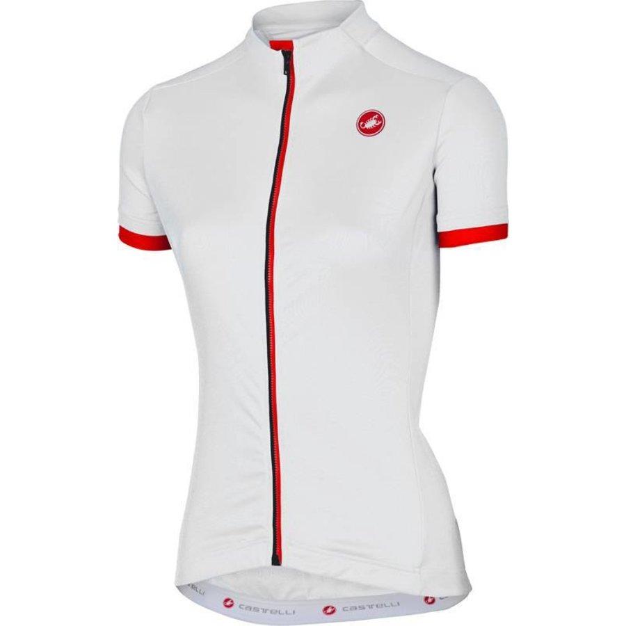 Castelli Anima Dames Fietsshirt met korte mouwen-45
