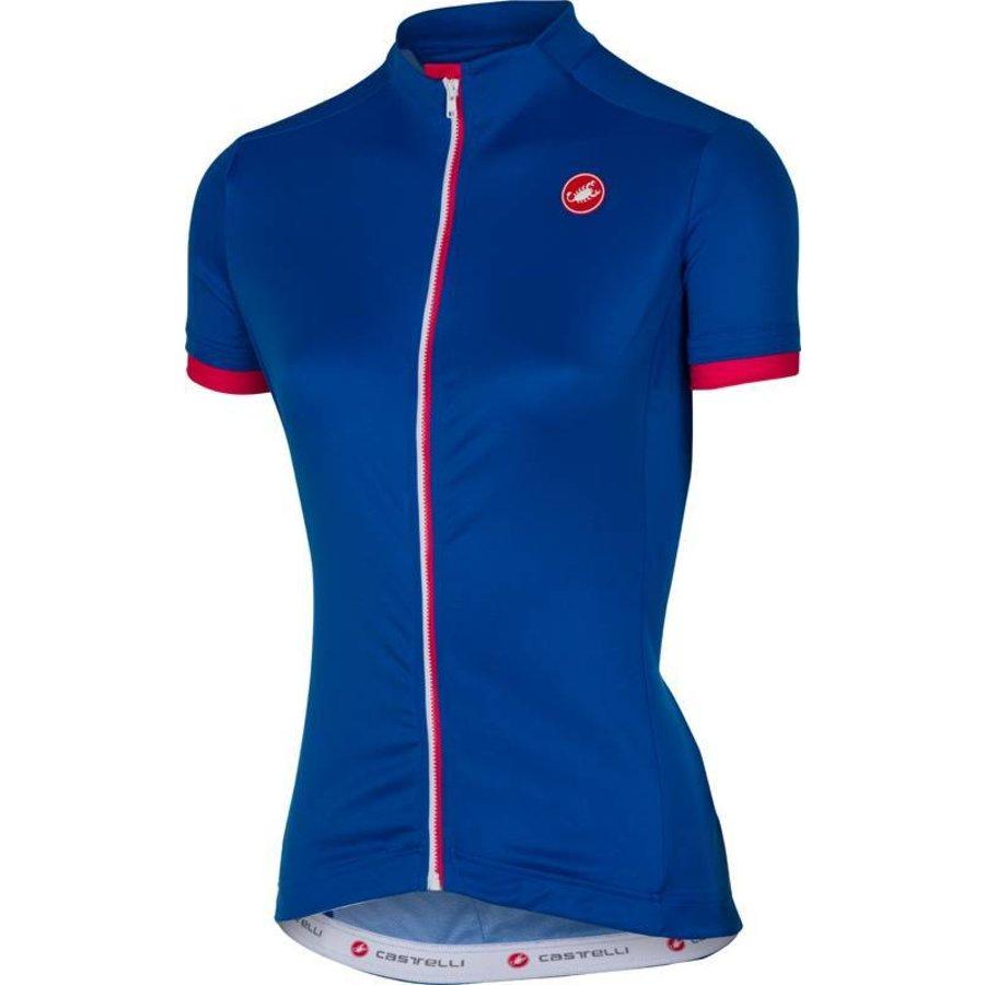 Castelli Anima Dames Fietsshirt met korte mouwen-50