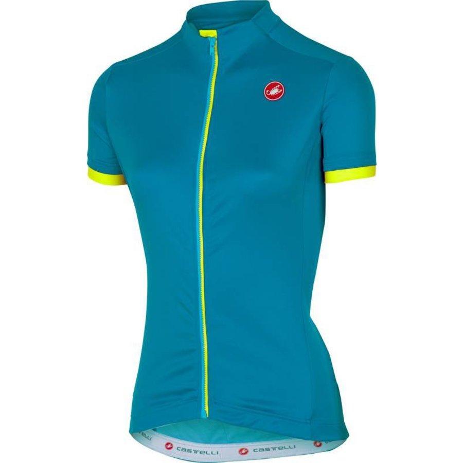 Castelli Anima Dames Fietsshirt met korte mouwen-58