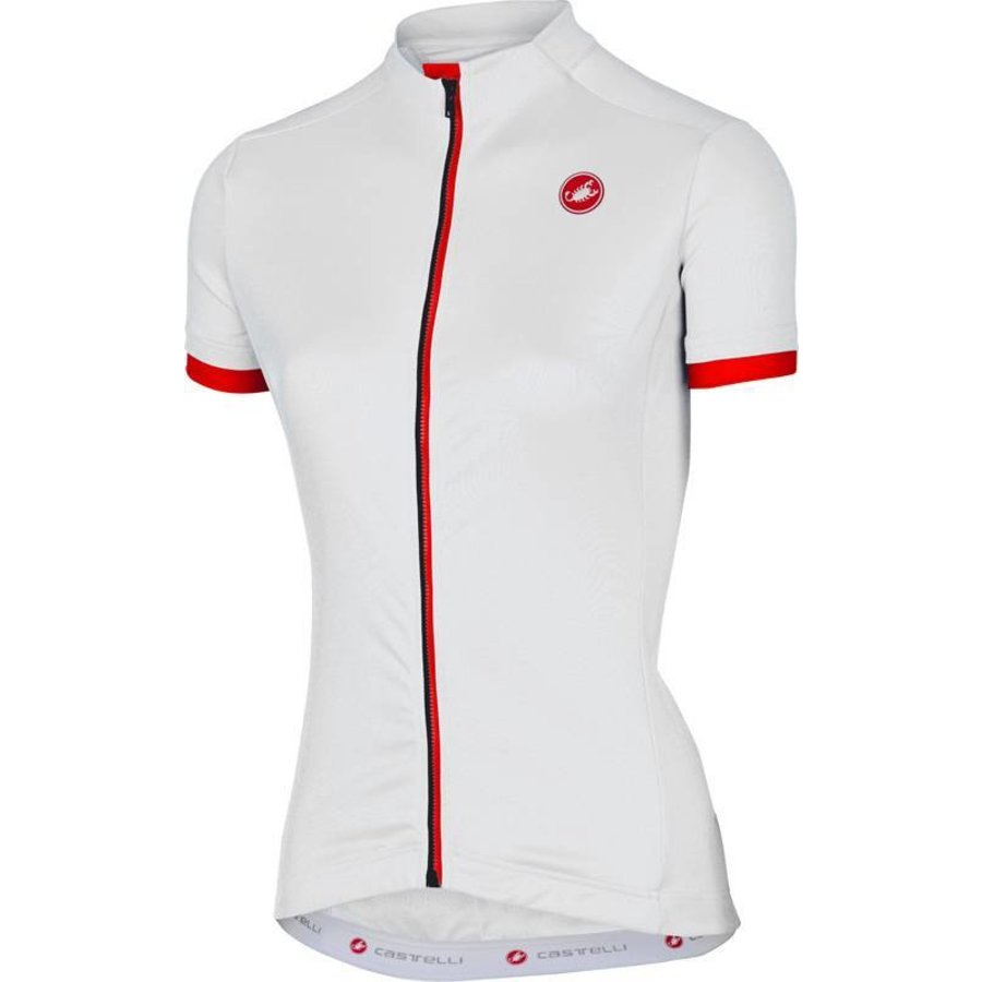 Castelli Anima Dames Fietsshirt met korte mouwen-80