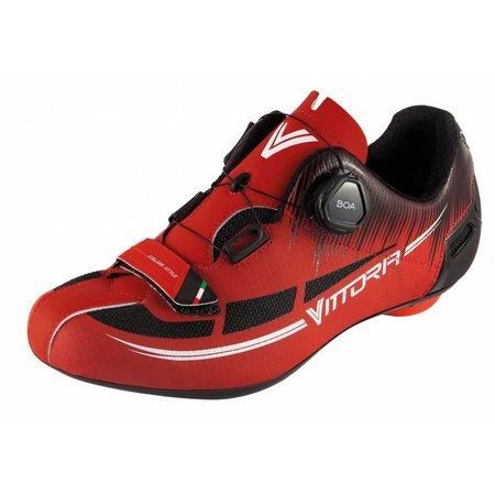 Vittoria Shoes & Helmets Vittoria Fusion2 Racefietsschoen (Rood)