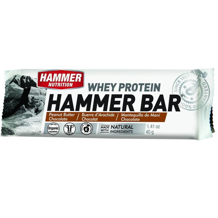 Hammer Whey proteine Herstelreep (40gr) Pindakaas-Chocolade-1