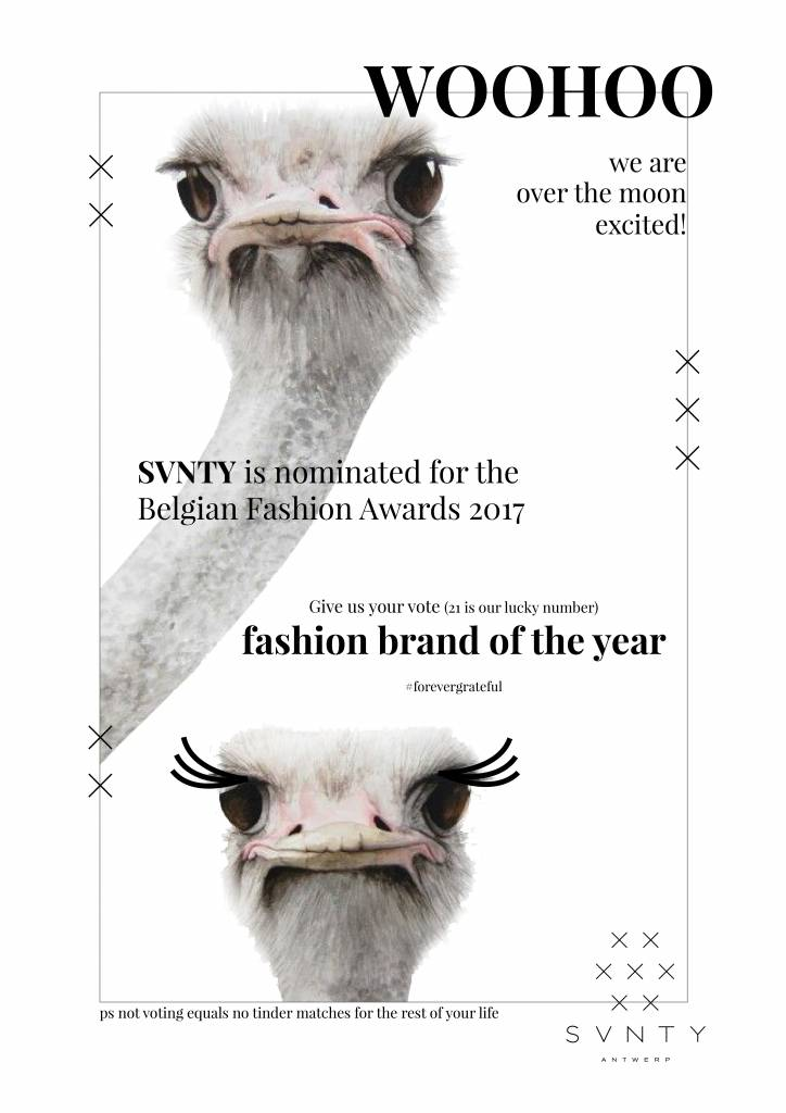 Fashion brand of the year: Nominated