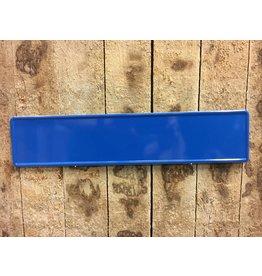 Kentekenplaat Donker Blauw