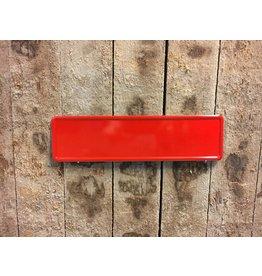 Midi Kentekenplaat Rood 34x9
