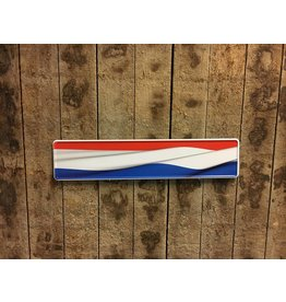 Kentekenplaat Nederlandse vlag