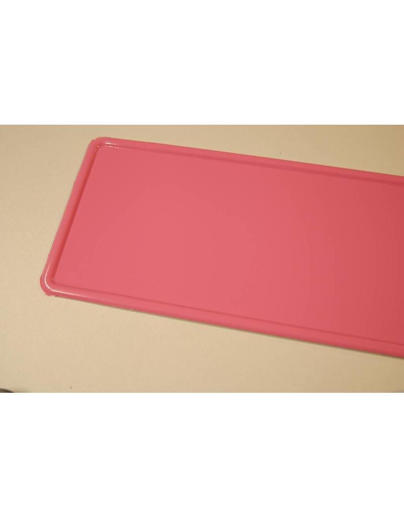 Kentekenplaat Roze