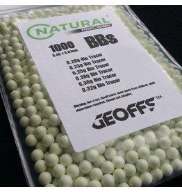 Geoffs Natural Precision 0.25 BIO 1000 Tracer BB's