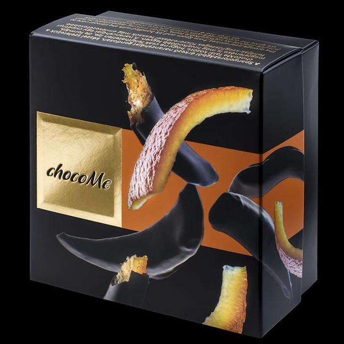 - VOILÉ | Spanische Orangenschale mit Gewürznelke in edle dunkle Schokolade getaucht