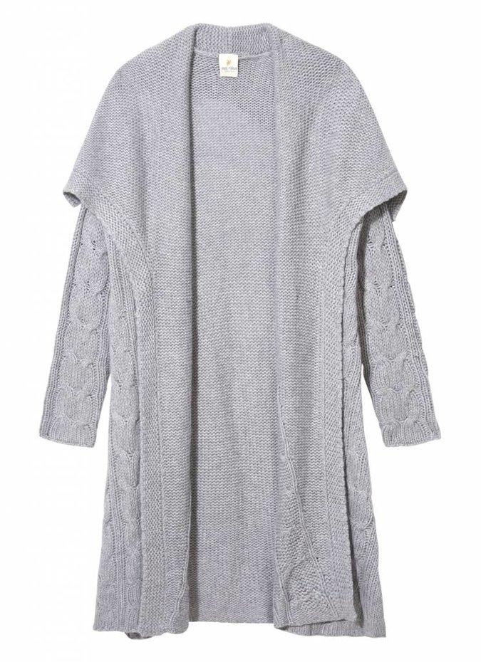 Grey Knit 'Coldplay' Cardigan