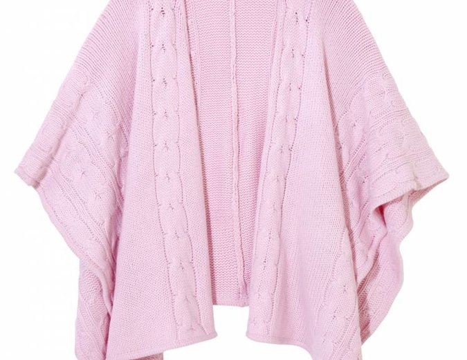 Knit Cape Cardigan