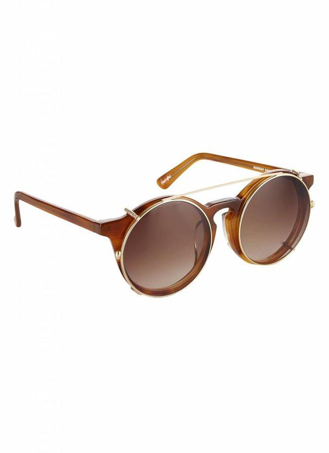 """Brown """"Matahari"""" Sunglasses"""