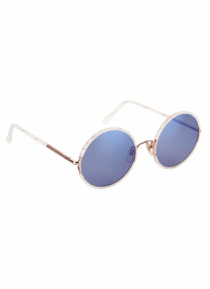 """Yetti"" Blue Lens Sunglasses"