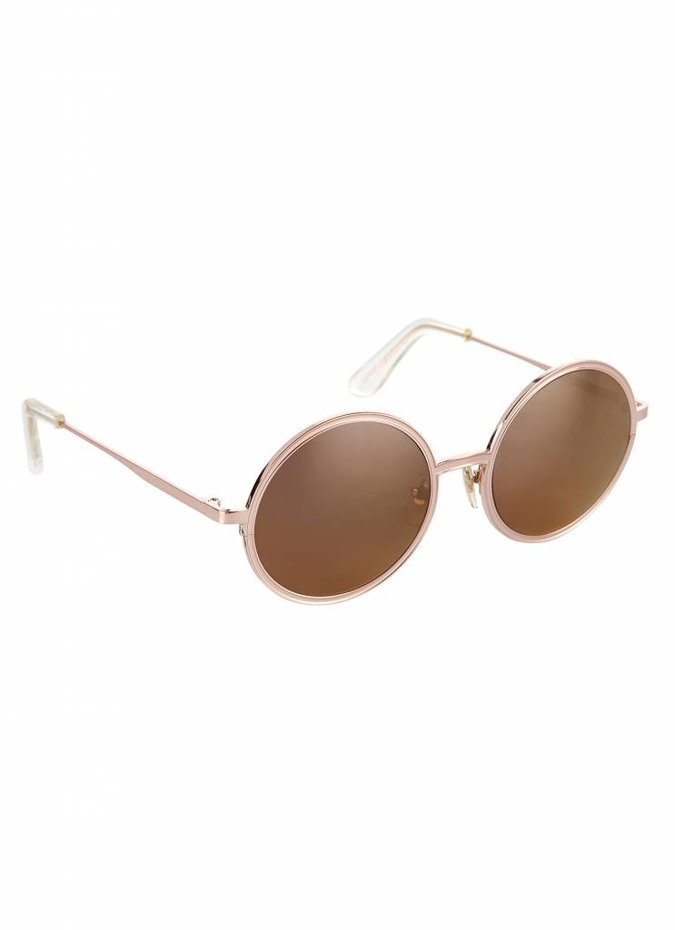 """Charlie"" Rose Gold Sunglasses"