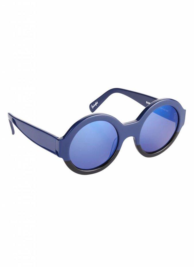 """Bruno"" Blue Sunglasses"