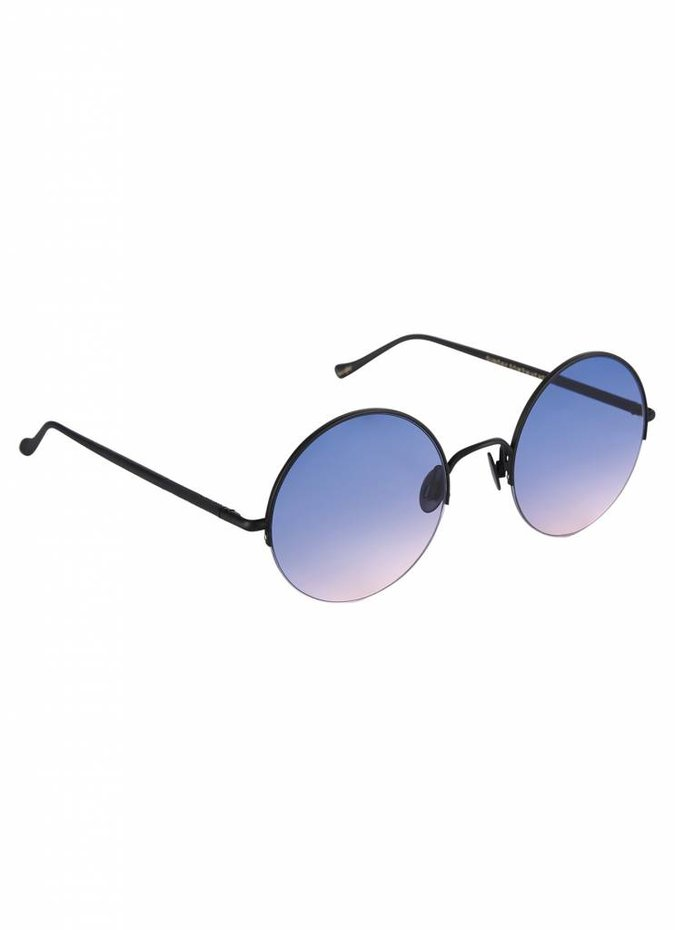 """Raine"" Pink and Blue Gradient Lens Sunglasses"