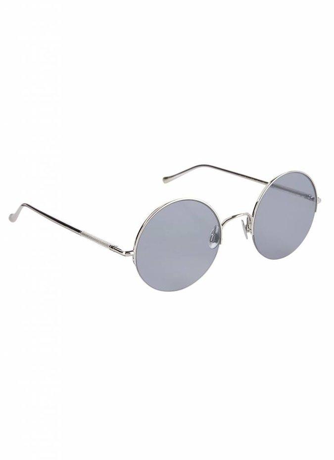 """""""Raine"""" Silver Sunglasses"""