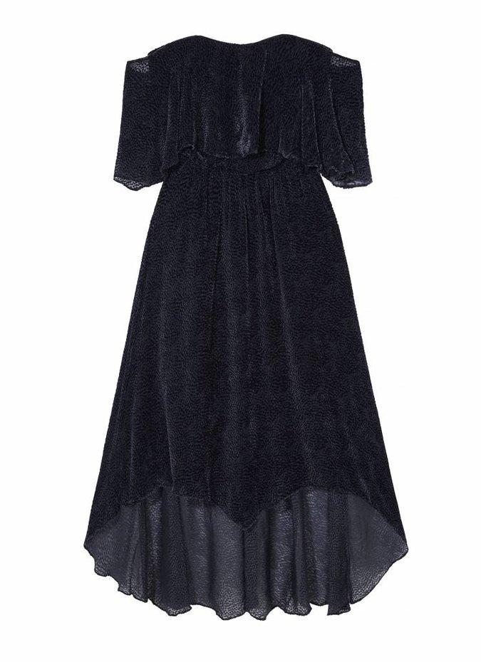 Camilla and Marc Saki Drape Off Shoulder Dress