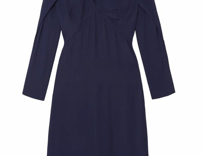 C/MEO Collective Do it Now Dress Blue