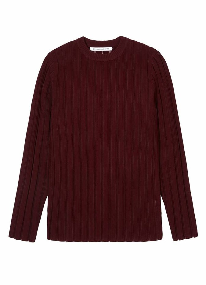 Camilla and Marc Yoko Sheer Knit Jumper