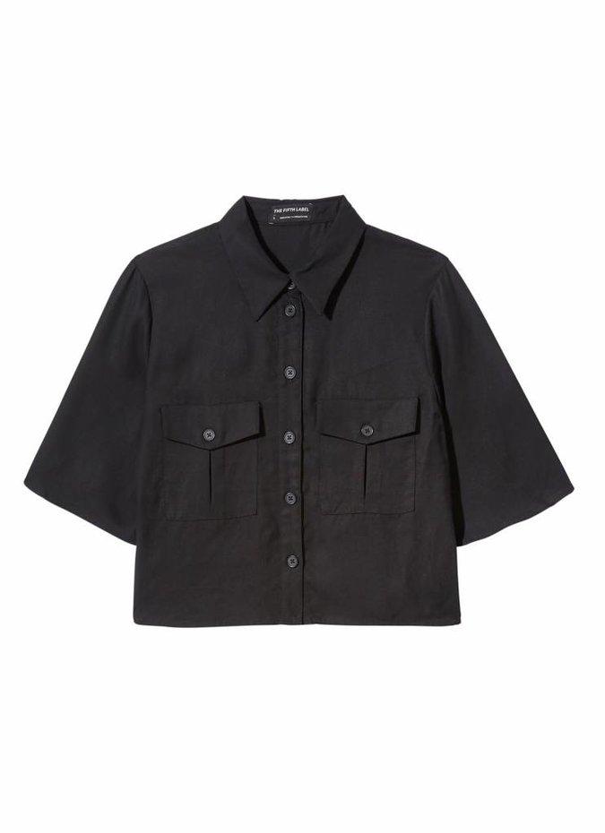 Born Free Shirt in Black