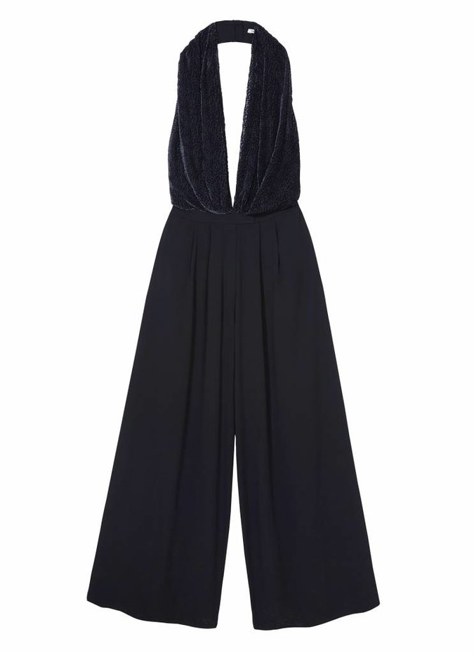 Camilla and Marc Saki Drape Jumpsuit in Ink