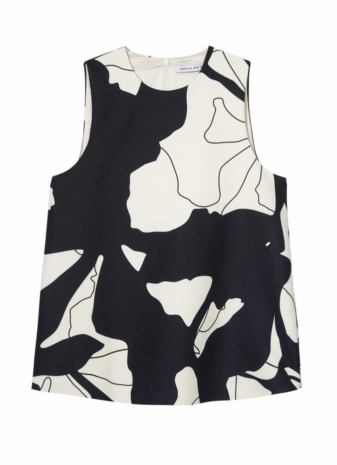 Camilla and Marc Tori Sleeveless Top
