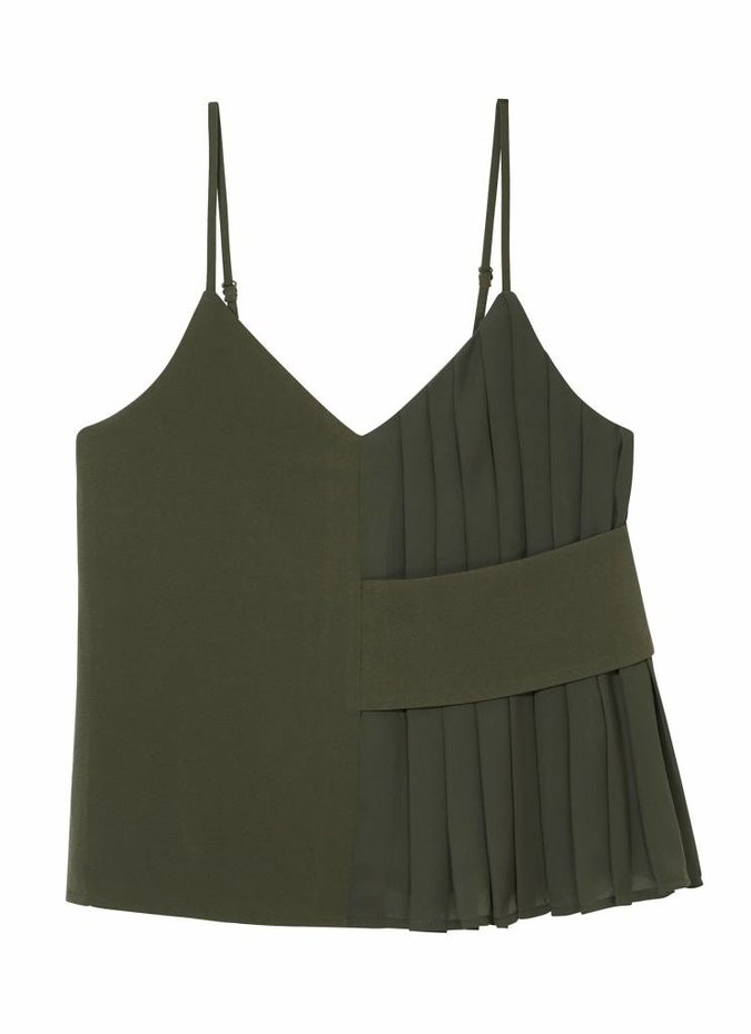 Finders Keepers Khaki Divide Top