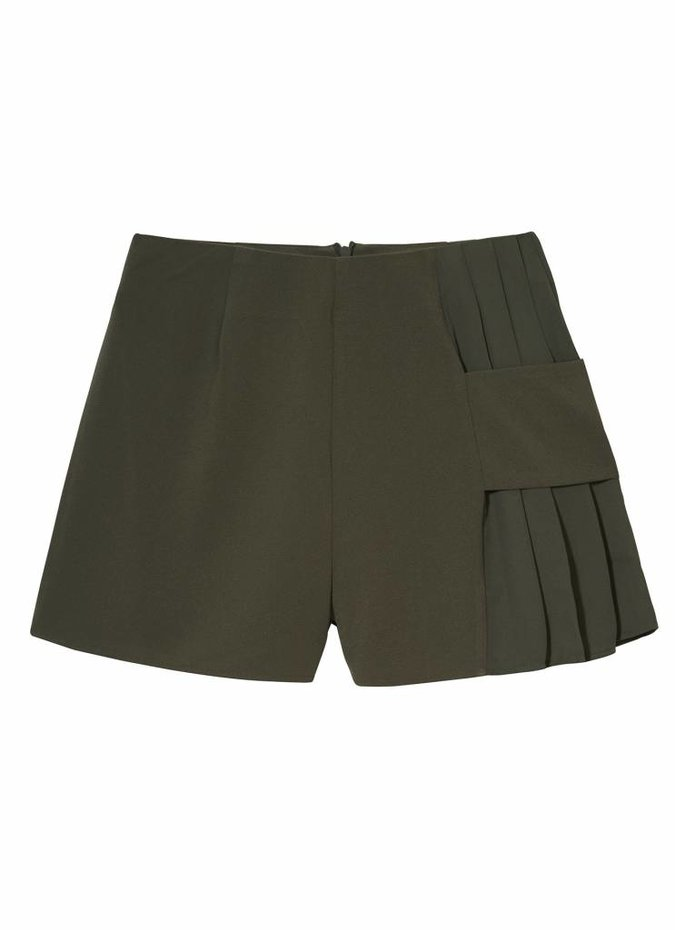 Finders Keepers Khaki Divide Shorts