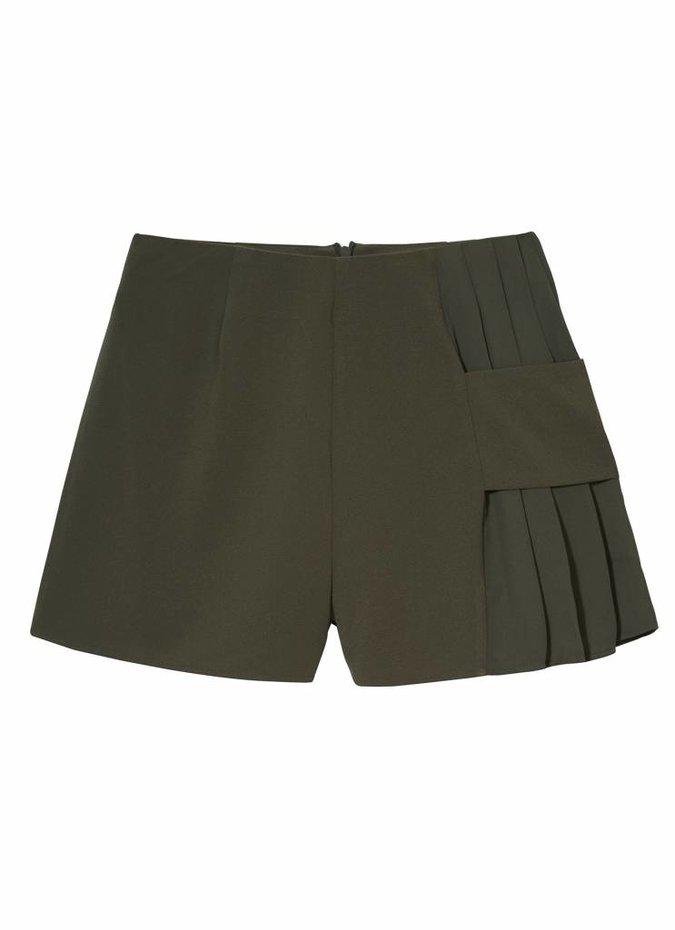 Khaki Divide Shorts