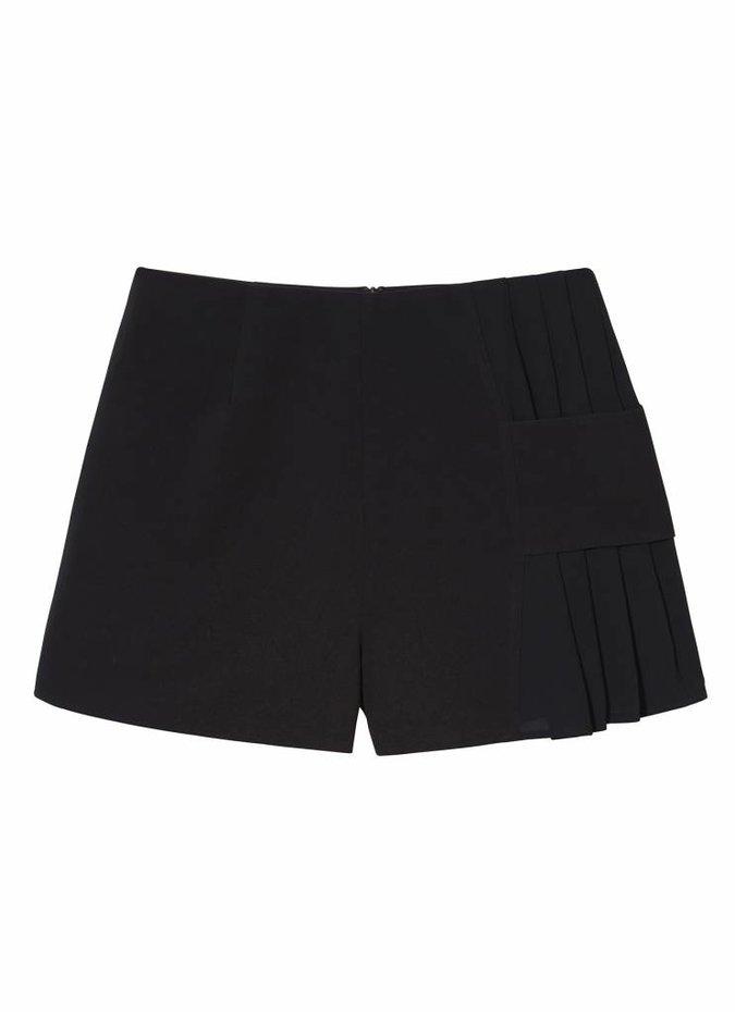 Black Divide Shorts