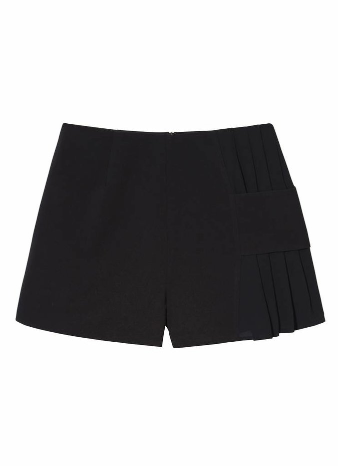 Finders Keepers Black Divide Shorts