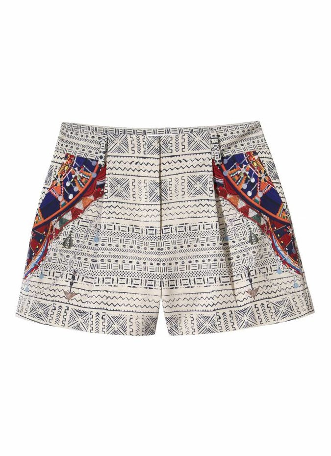 Camilla Print Stretch Shorts