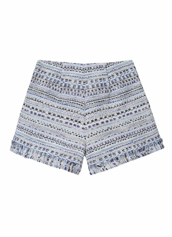 Thurley Blue Lagoon Tweed Shorts