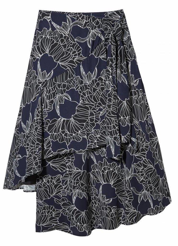 TY-LR The Vision Print Skirt