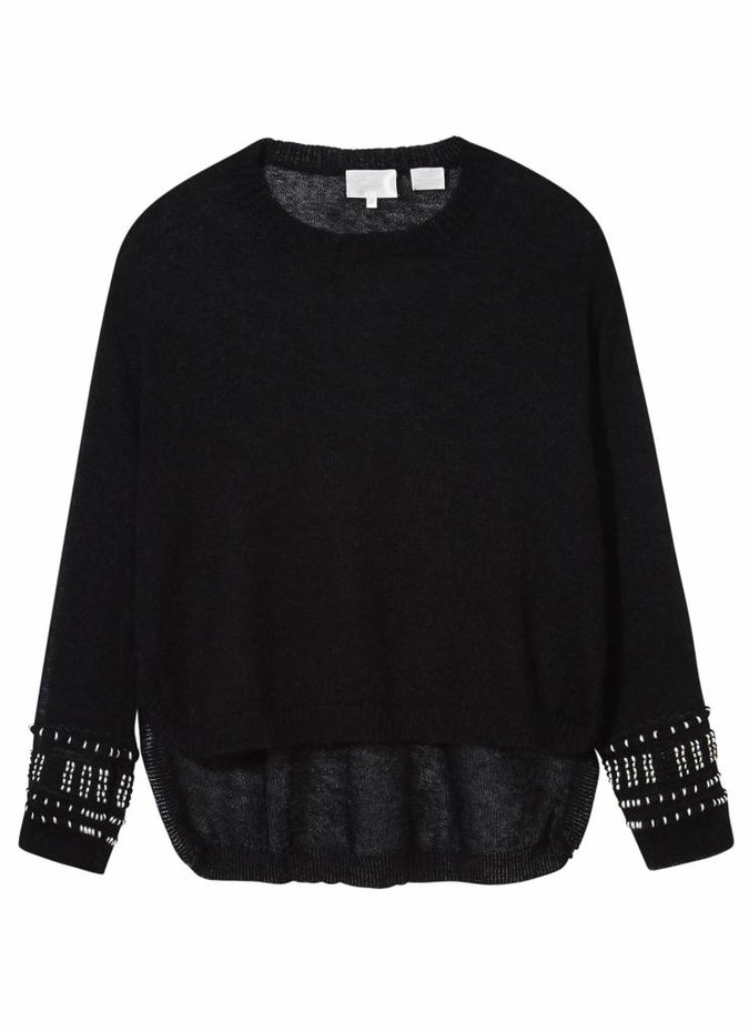 Camilla Long Sleeved High Low Top